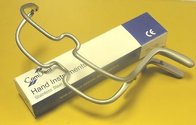 Dental Surgical Implant Mouth Gag Jennings 13cm St Steel CE New