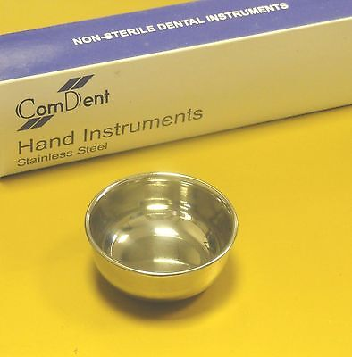 Dental Surgical Implant Bone Mixing Cup Utility Bowl 40 x 25mm St Steel CE