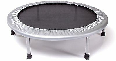 Stamina 36 inch Folding Trampoline Round 6 Detachable Rubber Tipped Legs