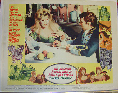 AMOROUS ADVENTURES OF MOLL FLANDERS (1965) * Lobby Card 7 * KIM NOVAK auto*