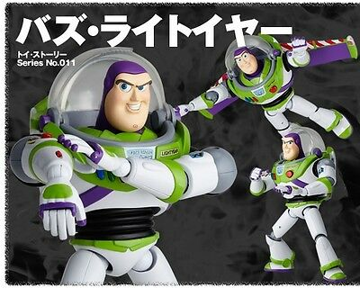 Kaiyodo SCI-FI Revoltech Series No.011 Toy Story Buzz Lightyear Action Figure