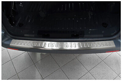 Profile stainless steel bumper with lip VW TRANSPORTER T5 2003