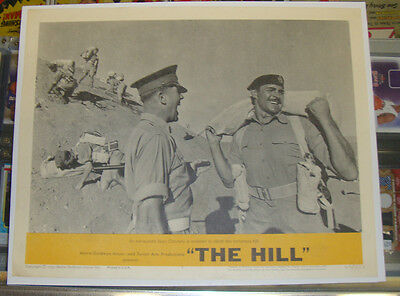 THE HILL (1965)  11 X 14 Lobby Card #8 * SEAN CONNERY  *