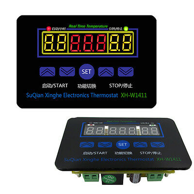 DC 12V 10A Multifunction LED Digital Temperature Controller Thermostat Control