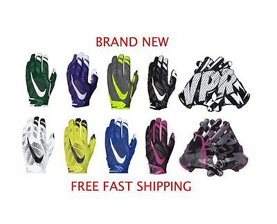 Nike Vapor Knit Adult Football Gloves - BRAND NEW & AUTHENTIC - FREE SHIPPING