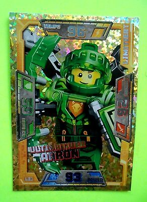 Lego Nexo Knights LE 1 Ultimativer Aaron Limitierte Auflage Trading Card Game