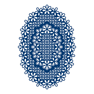 Tattered Lace LACED EDGE OVALS - Essentials Die Set - ETL361 - FREE UK P&P