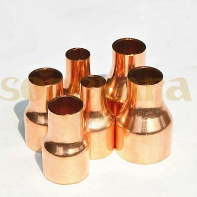 Multiple Copper End Feed Reducing Straight Coupling Pipe Fitting gas water oil