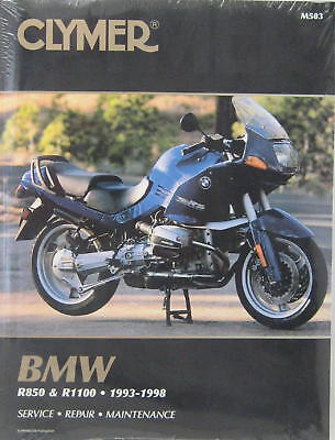 Clymer Workshop Manual For Bmw R850R,r1100R,rs,rt,gs,
