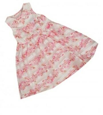 New Girls stunning lined party dress age 9-12 12-18 18-24 2-3 3-4 4-5 years