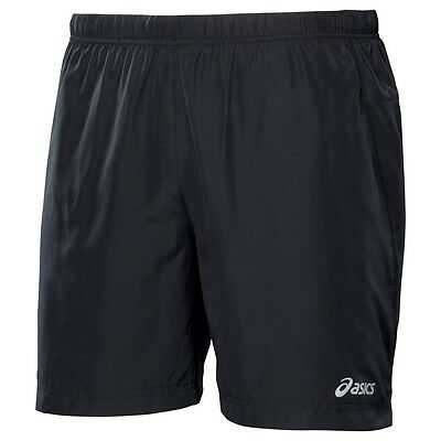 ASICS Men's Performance Woven 7 Inch Short Marathon Training BLACK