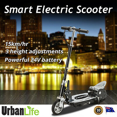 NEW 2017 Kids Smart Electric Scooter Height Adjustable Foldable Safe 140W Manual