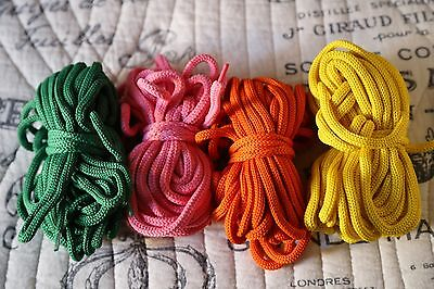 Corset Lacing Cord 3 Colors 10 Yards Mystic City Corsets