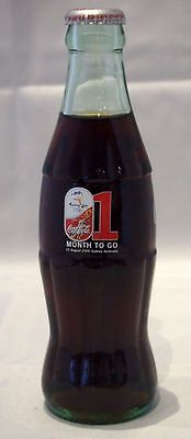 """2000 Sydney Olympics Coca Cola Bottle - """"5 Months To Go"""" -  Month 1"""