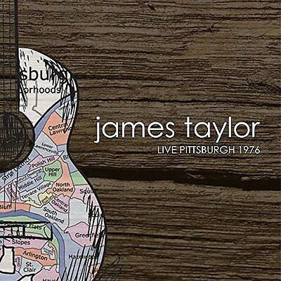 James Taylor-Live Pittsburgh 1976  CD NEW