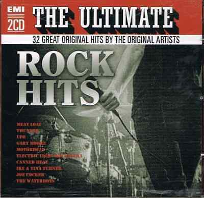 VARIOUS-The Ultimate Rock Hits  CD NEW