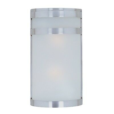 Maxim 5002FTSST Arc Outdoor Wall Sconce Lighting 120 Total Watts Stainless St...