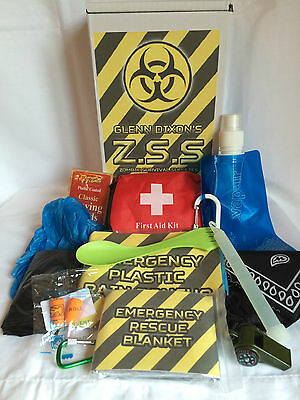 Zombie Survival Supplies - Personalized Apocalypse Kit