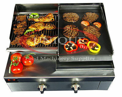 2 Burner Charcoal Grill Char grill Heavy Duty for Commercial Use - INC VAT