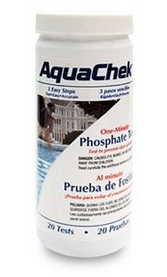 AquaChek Phosphate Test Kit for Swimming Pools - 20 Test  562227