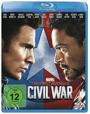 ✭ Captain America 3 - The First Avenger: Civil War BLU-RAY | FILM ✭