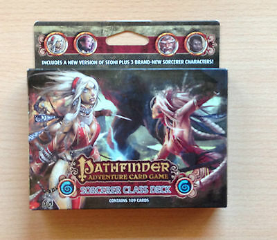 Pathfinder Adventure card game SORCERER Class deck Ingles English 109 cards