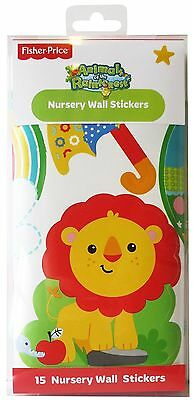 FunToSee Fisher Price Animals of the Rainforest Nursery Wall Stickers