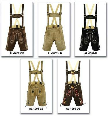 German Bavarian Lederhosen men Authentic Trachten Oktoberfest Wear