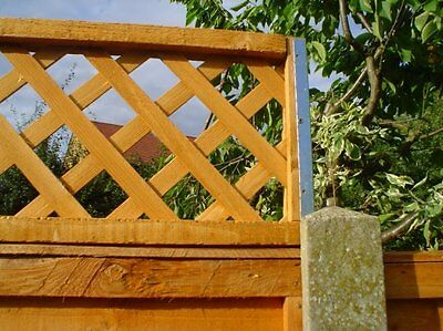 POSTFIX Concrete Fence Post Extension Fence Height Extender for Trellis Panels