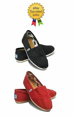 Tom's Classics Color Black, Red Women Shoes.brand New With Tag.all Sizes.