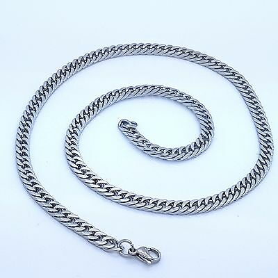 6Mm Chunky Stainless Steel 316L Chain Men's Jewellery Necklace