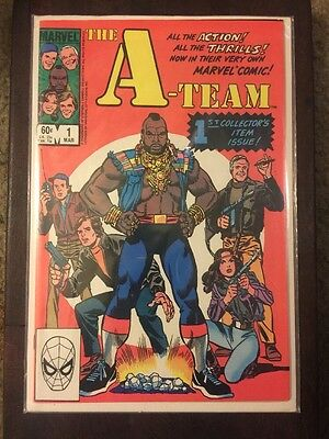 A-TEAM #1 1984 Marvel Comics-First Collectors Issue