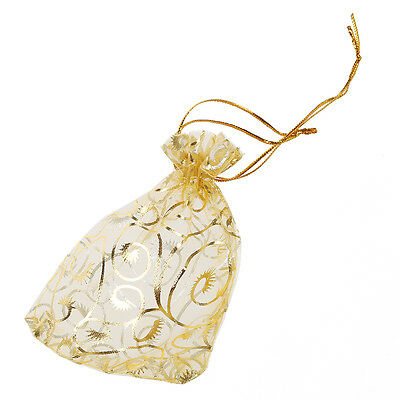 H1 Wedding Party Candy Organza Favour Gift Mini Jewelry Bags Pouches