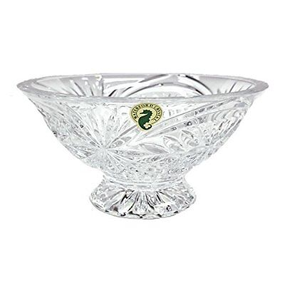 Waterford Crystal Heritage Tracy Footed Bowl 6.5in
