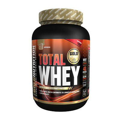 Proteina Total Whey 1 Kg Sabor Cappuccino - Gold Nutrition