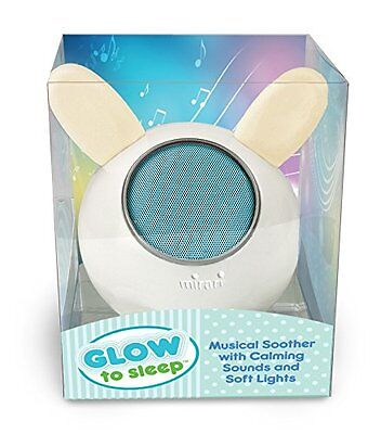 NEW Glow to Sleep Musical Soother with Lights and Bluetooth