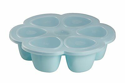 BEABA Multiportions Baby Food Storage Container 5 Oz, Sky
