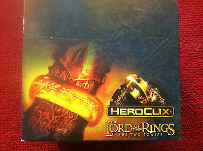 The Lord of the Rings HeroClix: The Two Towers 30-count Countertop Display NEW