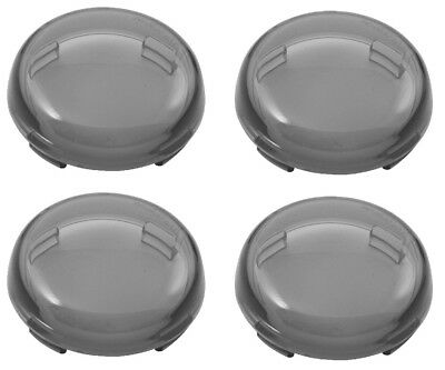 Smoked Lenses Harley Davidson Deuce Style 4 Pack Street Road Electra Ultra Glide