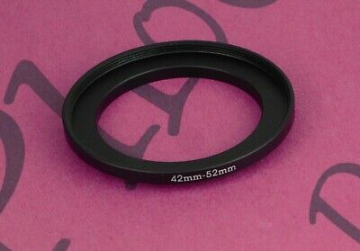 42mm to 52mm Stepping Step Up Filter Ring Adapter 42mm-52mm