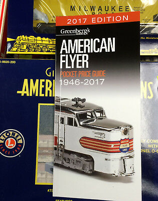American Flyer Price Guide....mint.....2017 Edition...just Issued! ..........c3