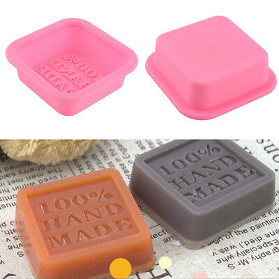 Silicone Cake Chocolate Tray 100% Handmade Soap Mold Candle Sugercraft