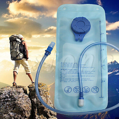 2L Water Bladder Backpack Hydration System Camelbak Sport Pack Hiking Camping