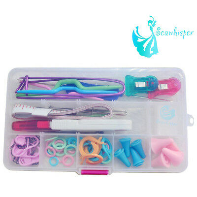 Seawhisper Knitting Tool Package Kit Accessory with Case UK Stock Sale Knit