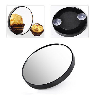 10X Magnifying Suction Cup Compact Makeup Mirror Cosmetic Bathroom Travel 8.5cm