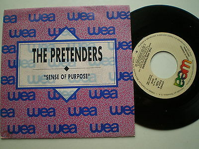 THE PRETENDERS Sense Of  SPAIN 1-SIDE ONLY PROM0 45 1990