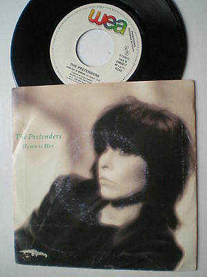 THE PRETENDERS Hym To Her SPANISH PROM0 45 1986