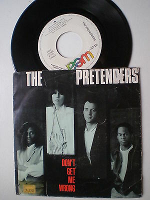 THE PRETENDERS Don't Get Me SPAIN PROM0 45 1986