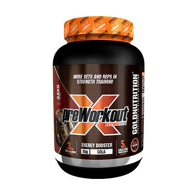 Pre-Entreno  Pre-Workout Force 1 Kg Sabor Cola - Gold Nutrition