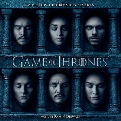 Game of Thrones. Season.6, 1 Audio-CD (Soundtrack) CD Djawadi,Ramin Game of Th..